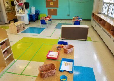 St. Gabriel Lalemant Preschool Program Room Window Side